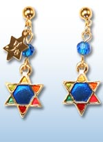 Feelin' Jewish earrings jr. 1