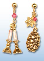 Shabbat jr. earrings 1