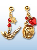 Rosh Hashanah jr. earrings 1