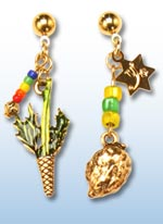 Sukkot jr. earrings 1