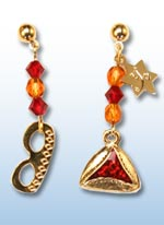 Purim jr. earrings 1