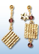 Passover jr. earrings 1