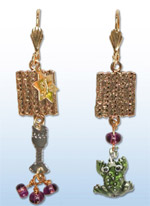 Passover (Pesach) Earrings 1