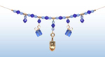 Chanukah Holiday Necklace 1